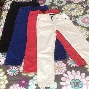 Calvin Klein Skinny Crop Jeans Bundle 4 pairs